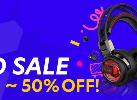 剁手节就要买买买!XPG电竞品牌产品大促销:RM424入手超值配套,包括滑鼠、键盘、耳机等!