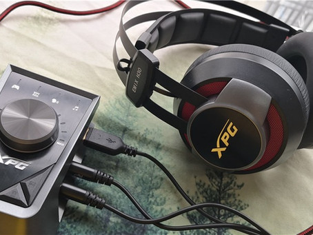 【XPG Emix H30电竞耳机测评】经典不败配色+Solox F30扩大器,为玩家带来电竞顶级双配备!