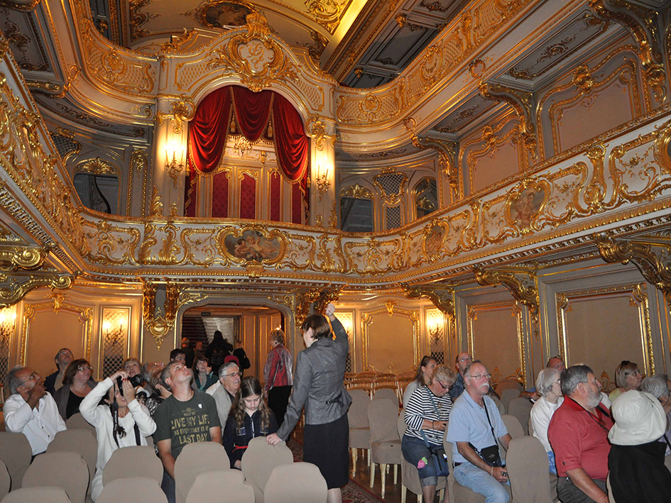 Театр дворца Юсупова.
