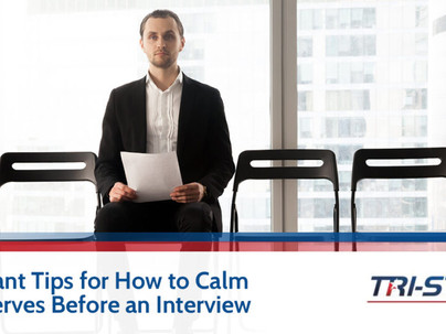 3 Important Tips for How to Calm Your Nerves Before an Interview