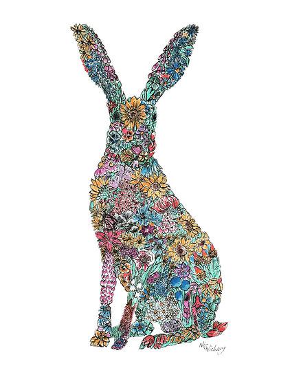 Sumnor Hare Giclée Print