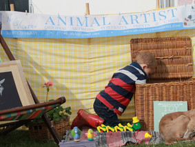 We cater for dogs and children!