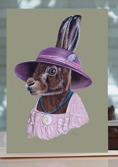 Lady Heiress Greeting Card