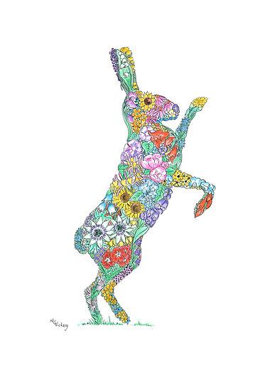 Wef Fehtan Hare Giclée Print