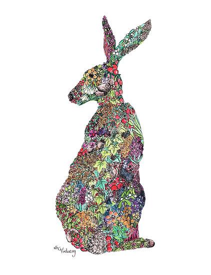 Winter Hare Giclée Print
