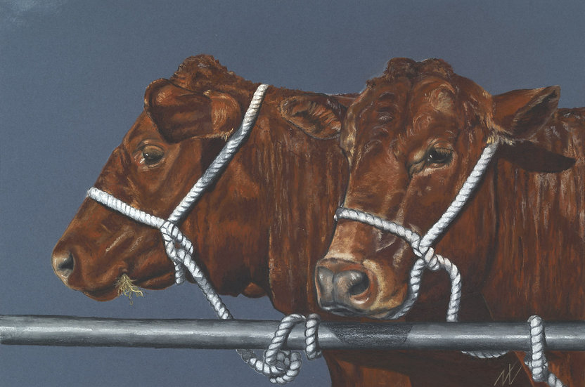 Show Girls, Limited Edition Giclee Print