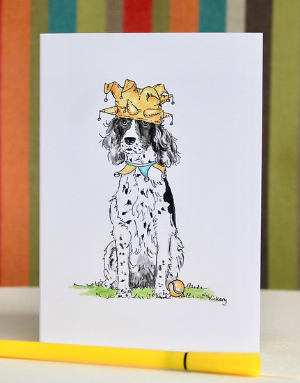 Joker of the Pack greeting card