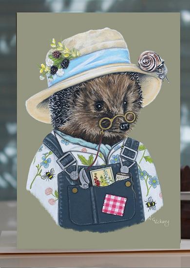 Hev hog the Hedgehog Greeting Card