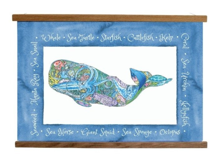 A Whale with a Tale Poster