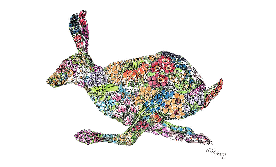 Lencten Hare Giclée Print