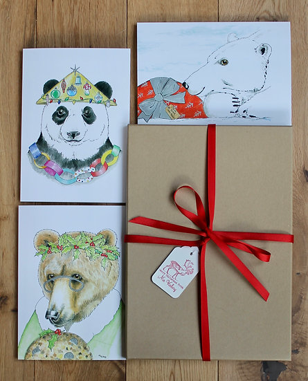 Three Bears Christmas Box