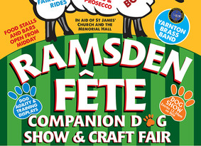 Local Fetes coming up...