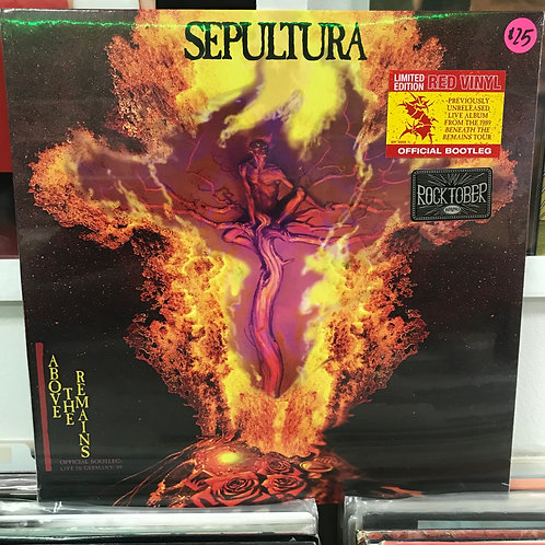 Sepultura ‎– Above The Remains: Official Bootleg