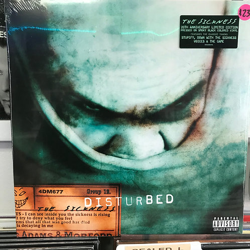 Disturbed ‎– The Sickness (20th Anniversary)