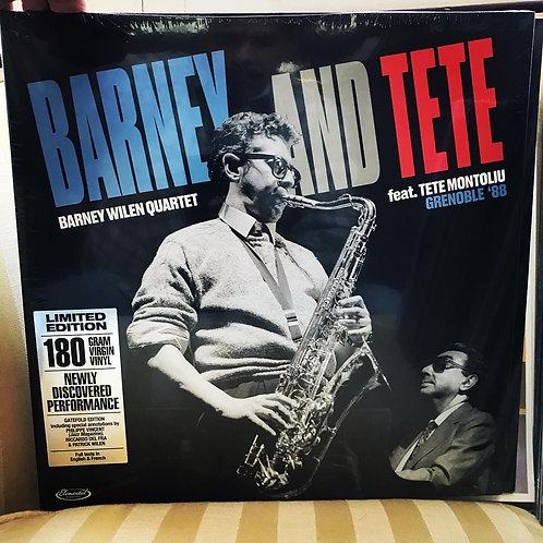 BARNEY WILEN Barney and Tete: Grenoble '88