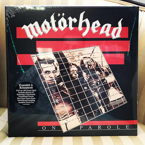MOTORHEAD On Parole (Expanded and Remastered)