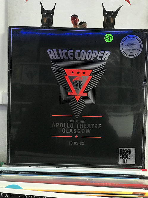 Alice Cooper ‎– Live At The Apollo Theatre, Glasgow // 19.02.82