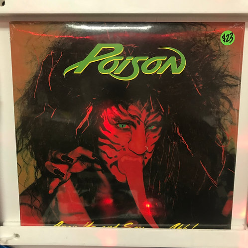 Poison ‎– Open Up and Say...Ahh!