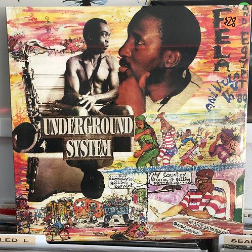 Fela Anikulapo-Kuti And Egypt 80 – Underground System