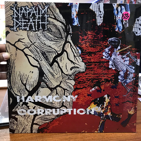 Napalm Death ‎– Harmony Corruption
