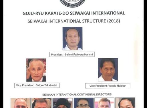 Seiwakai International  szervezeti struktúrája
