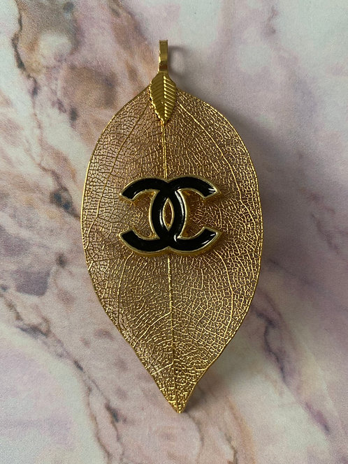 FEUILLE D'OR Pendant