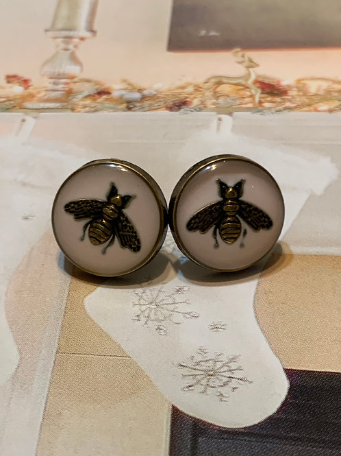 GUCCI BEE ROSÉ Earrings