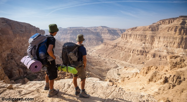 Palmach Ascent - Israeli national trail - Negev Trails - best hikes in Israel