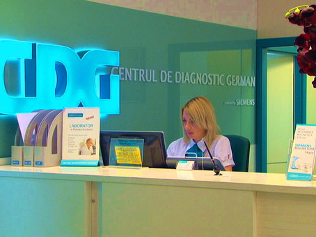 """We are moving forward. New service - Health Diagnostic with """"Center Diagnostic German"""""""