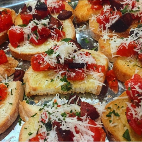 Italian Bruschetta Appetizer Recipe