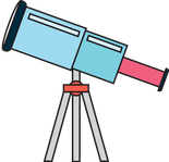 A Telescope Icon