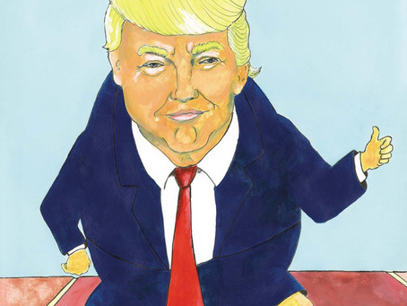"""Chet Lowther on His New Book """"Trumpty Dumpty and the Great Wall"""""""