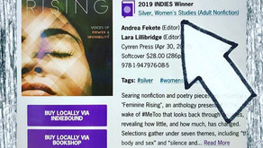 Feminine Rising Takes Silver as 2019 Indie Book of the Year in Women's Studies