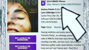 Feminine Rising Takes Silver as 2019 Indie Book of the Year in Women's Studies