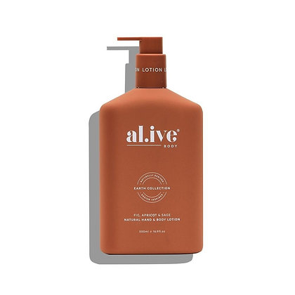 Hand and Body Lotion in Fig, Apricot and Sage