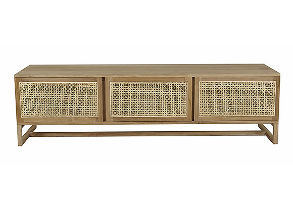 Willow Woven TV Unit