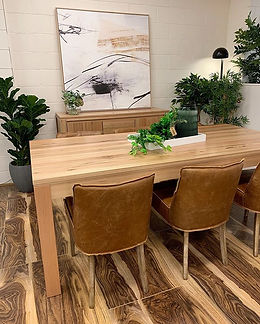 Natural timber with tan 🖤_This table wi
