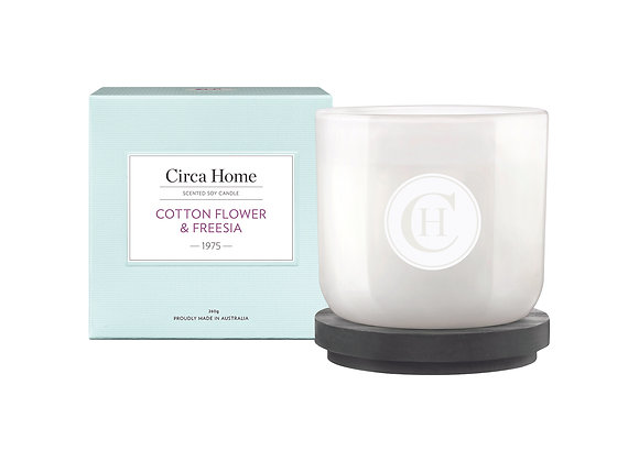 Cotton Flower & Freesia Candle