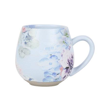 Hug Me Mug in Blue - Garden Party