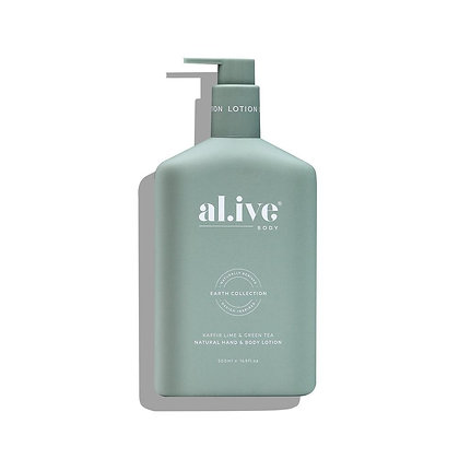 Hand and Body Lotion in Kaffir Lime and Green Tea