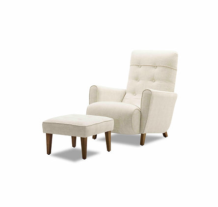 Bonnie Chair and Ottoman