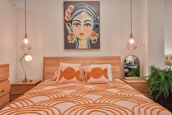 Queen Bed in Australian Timber - 138233