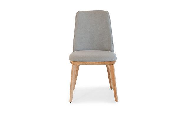 Dining Chair in Dark Grey Fabric - 144766