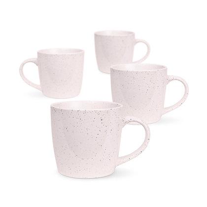 4pk Pink Granite Mug