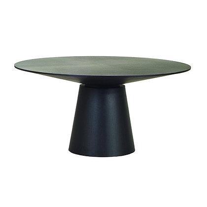 Classique Round Dining Table in Matt Dark Oak