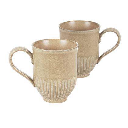 2pk Umber Crafted Mug