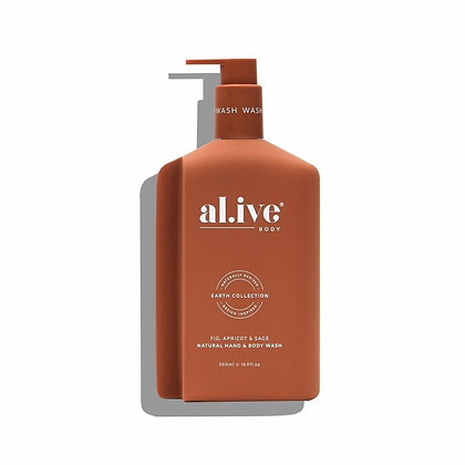 Hand and Body Wash in Fig, Apricot and Sage