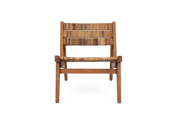 Brawny Lounge Chair with Footrest