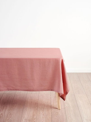 Nimes Rosette Linen Tablecloth