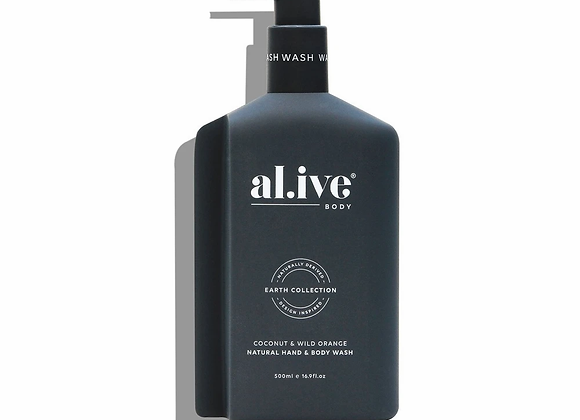 Hand and Body Wash in Coconut and Wild Orange